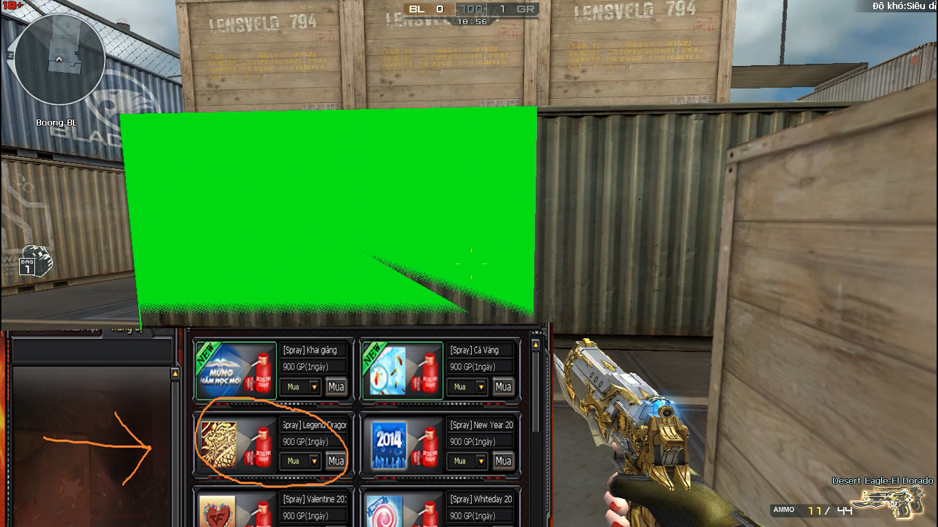 SHARE MOD SPRAY PHÔNG XANH GREEN SCREEN | BUG ALL