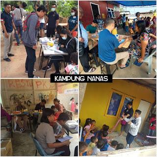 Polda Kepri Adakan Bakti Sosial Memberikan Pengobatan Gratis Kepada 709 Masyarakat.
