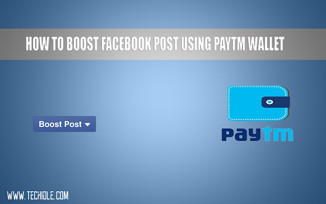How To Boost Facebook Post Using PayTM Wallet