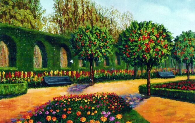 Sembrando en el jardín de la vida