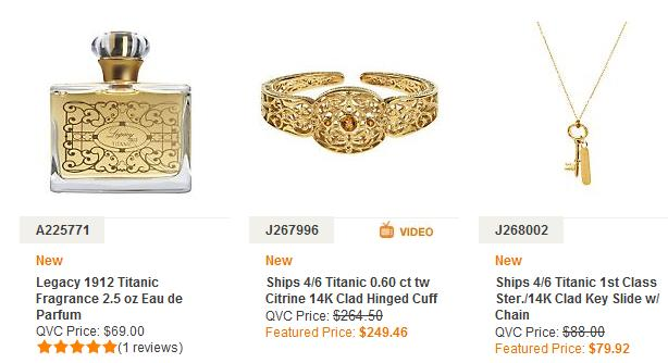 QVC wants to know Are you ready to go back to Titanic