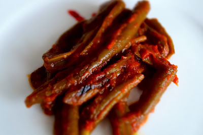 ricetta fagiolini vegan