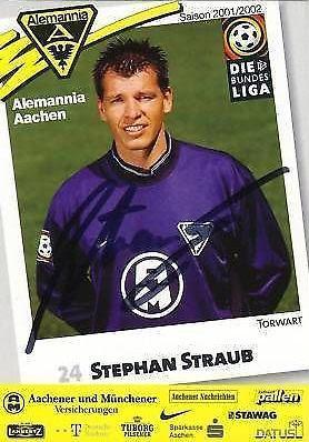 Stephan Lämmermann Autogrammkarte Alemannia Aachen 2002-03 Original Signiert