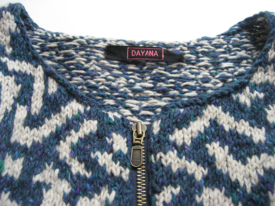 Staccato Jacket by Kaffe Fassett, knit by Dayana Knits