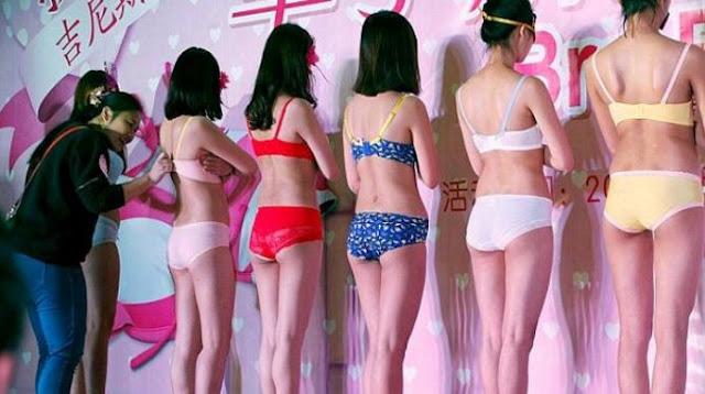Edan! Peringati Hari Perempuan, Mall Ini Adakan Kontes Buka ( . Y . )