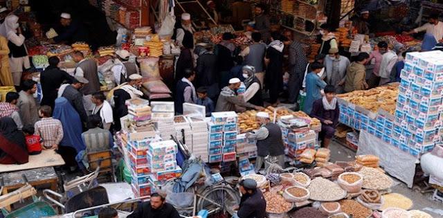 Bukan Cuma Di Indonesia, Warga Afganistan Padati Pasar Jelang Lebaran Dan Lupakan Protokol Kesehatan