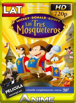 Mickey, Donald, Goofy: Los Tres Mosqueteros (2004) [DVDRip] [720p] [Latino] [GoogleDrive] AioriaHD