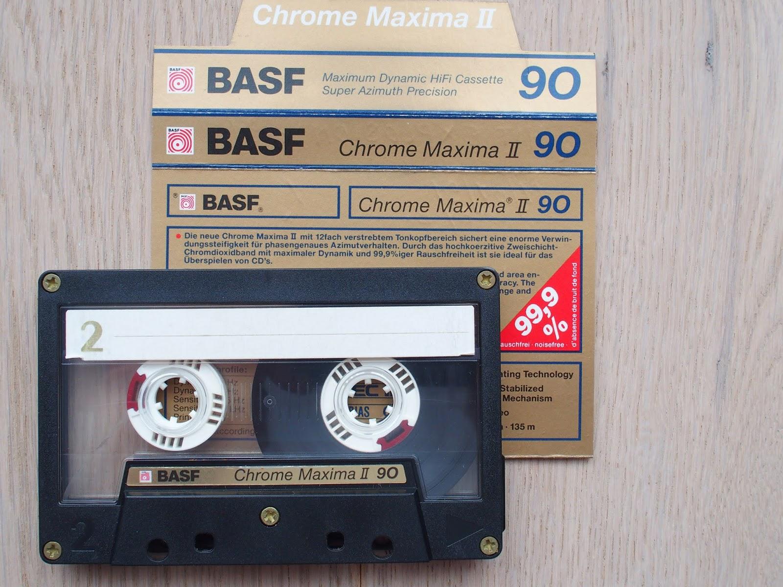 BASF Chrome Super II 90 Cassette Tape Kassette