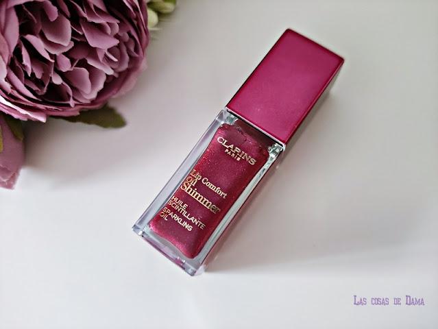 Lip Comfort Oil Shimmer Clarins lipcare beauty labios belleza makeup maquillaje