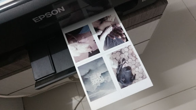 printing polaroids using inkjet printer