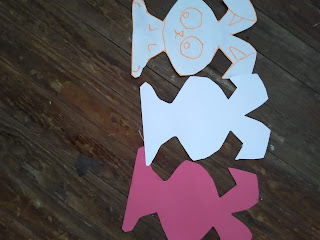Cutouts of bunnies