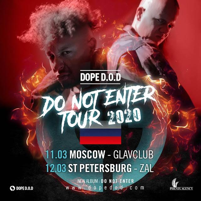 Dope D.O.D. в России