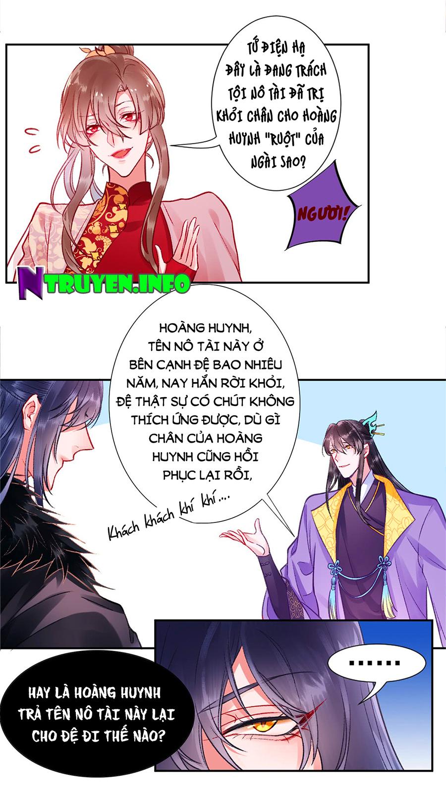 Hoàng phi 9000 tuổi chap 24 - Trang 7