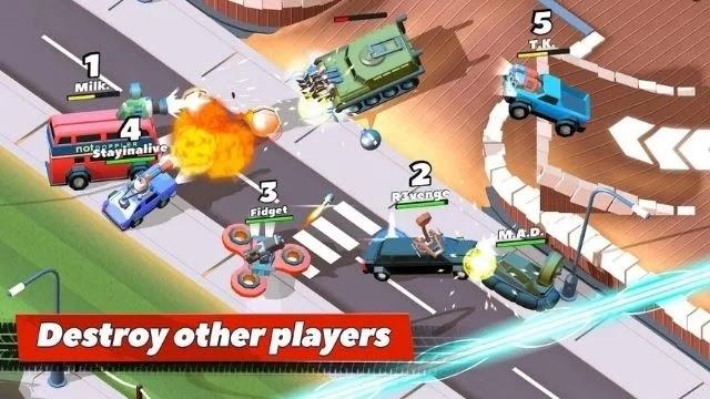 تحميل لعبه crash of cars مهكرة من ميديا فاير