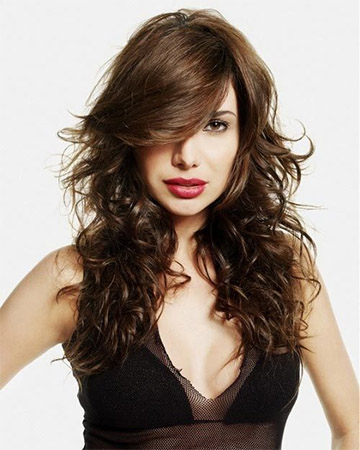 Medium Haircuts for Thick Wavy Hair