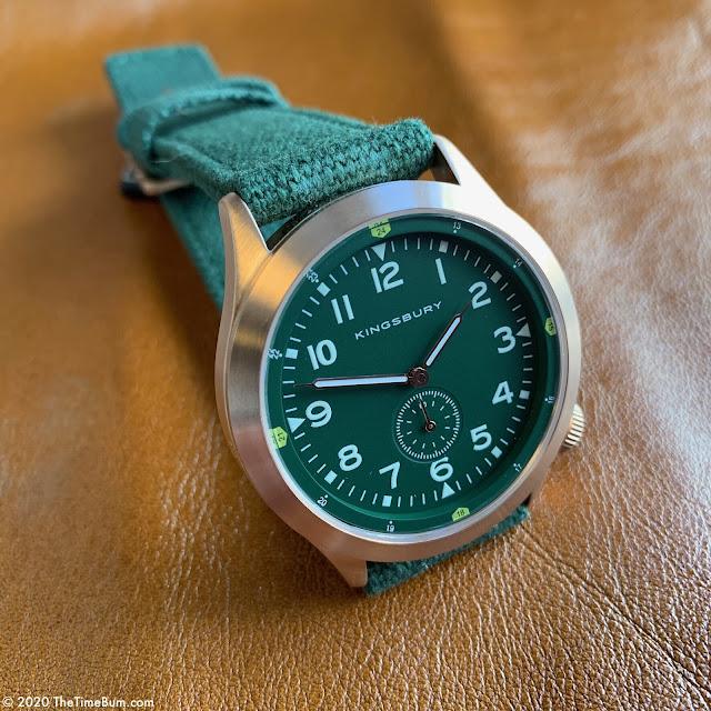 Kingsbury MS2 Platoon green