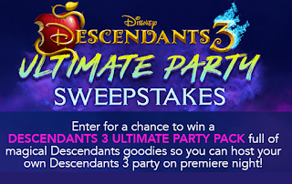 Descendants 3 Prize Pack Giveaway - 50 Winners Each Win