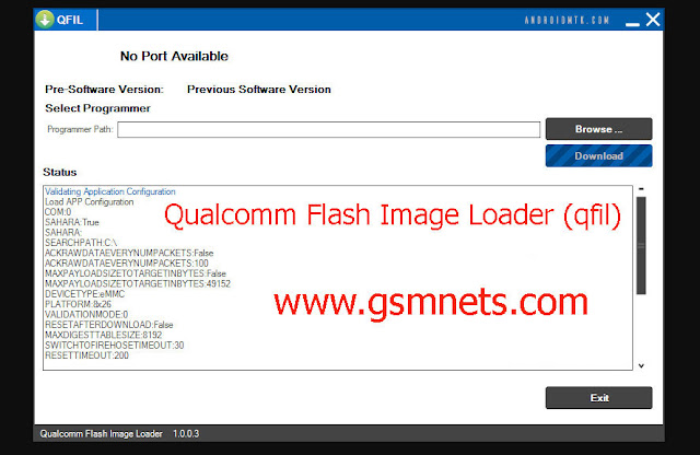 How To Use Qualcomm Flash Image Loader (qfil)