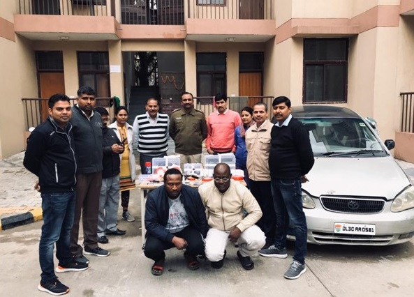 ATM Cloning: 2 Nigerians Arrested In India, 37 Cloned Cards, Laptop Recovered