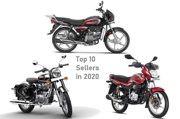 Top 10 Selling Motorcycles In November 2020