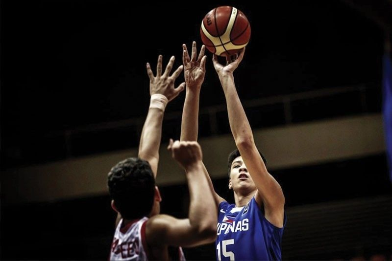 "Kai Sotto single-handedly manned the rim as his ""Twin Tower"" partner, AJ Edu injured his knees"