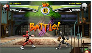 Power Rangers vs TMNT: Ultimate Hero Clash 2 fighting Game