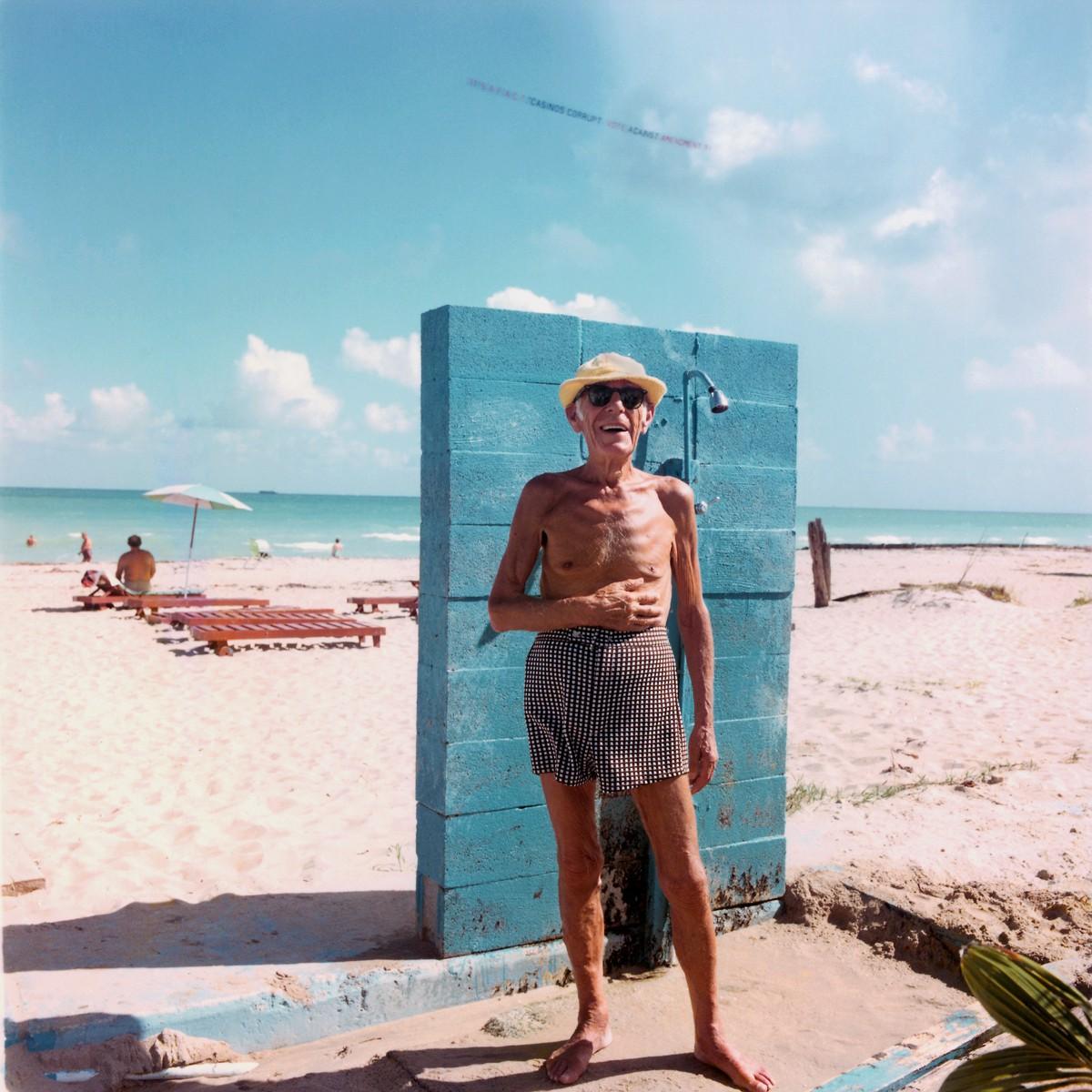 Vivid Color Photographs Show Iconic Beach Culture Of Miami