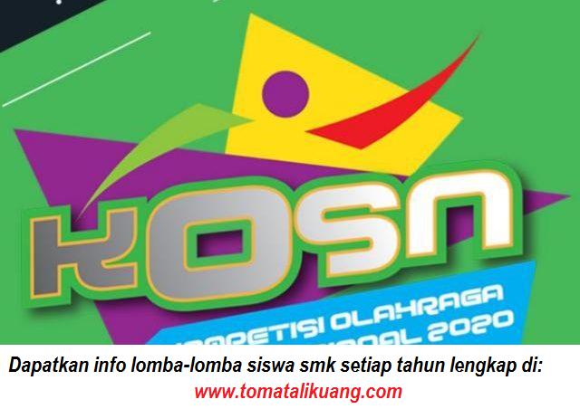 hasil seleksi kosn o2sn smk tingkat provinsi tahun 2020 pdf tomatalikuang.com