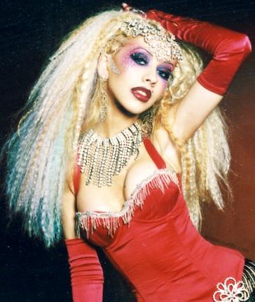 Foto de Christina Aguilera más joven