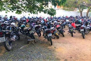 Veículos apreendidos serão leiloados em Guanambi