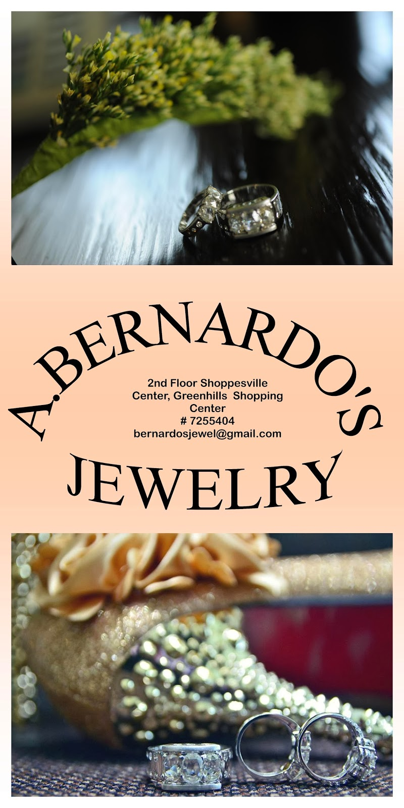 Get your precious gems at A. Bernardo's Jewelry!