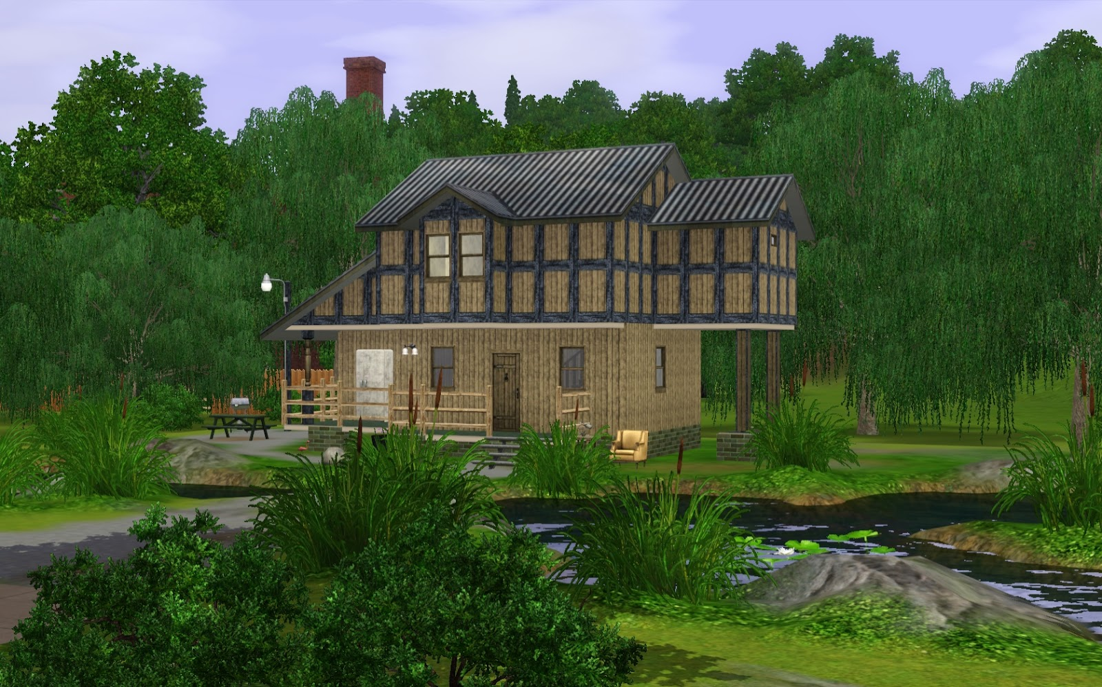 Summers Little Sims 3 Garden Sunset Valley The Sims 3 Base Game List of Houses