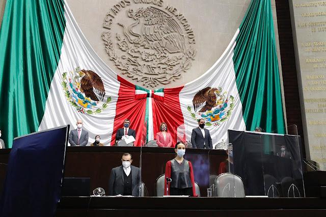 La Comisión Permanente guardó minuto de silencio en memoria del diputado local por Guanajuato, Juan Antonio Acosta Cano