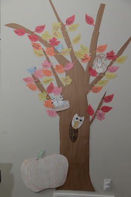Thankfulness Tree Paper
