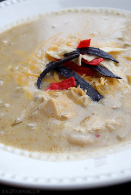 Creamy Chicken Verde Soup