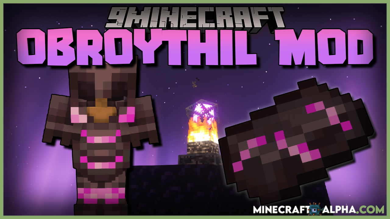 Minecraft Obroythil Mod For 1.16.5 (Material And Armors)