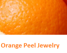 - Oranges citrus fruit peel (Santre Ke Chilke)  - Orange Peel Jewelry