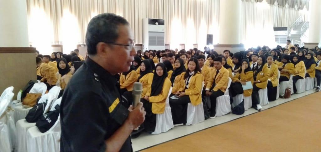 Program Orientasi Kampus, DPD GRANAT Lampung Sampaikan P4GN
