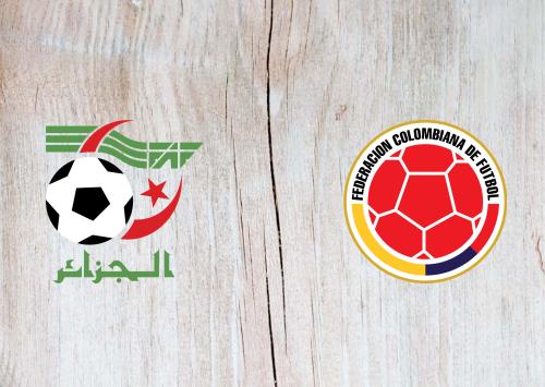 Algeria vs Colombia -Highlights 15 October 2019
