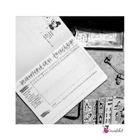 bullet journal tracker page ideas