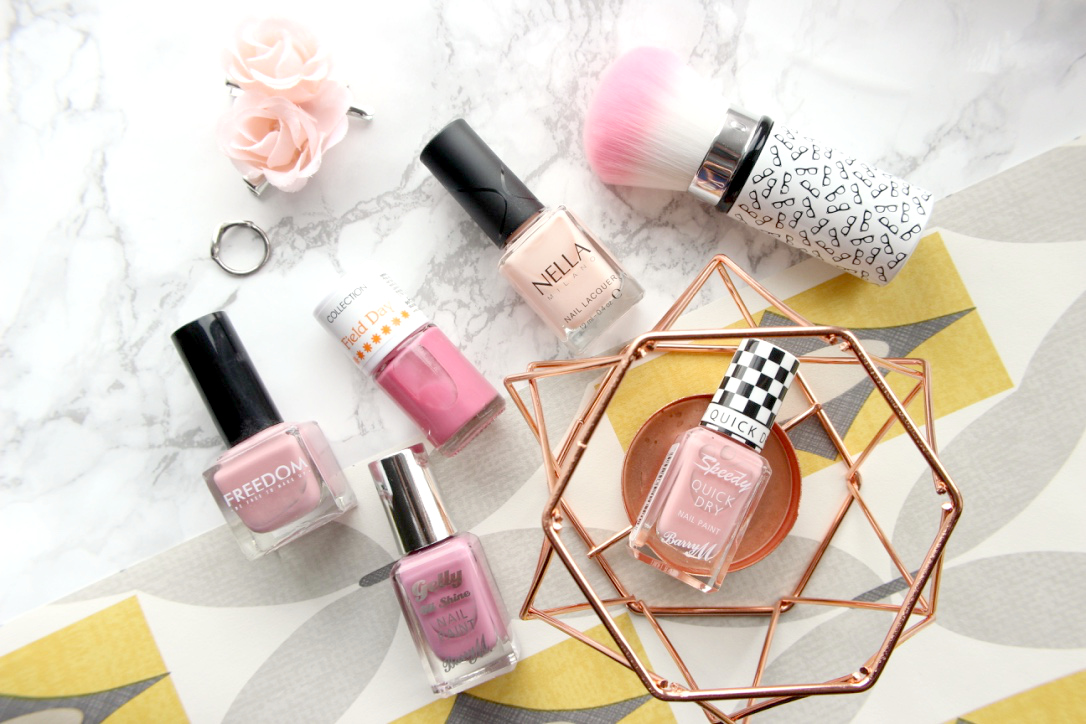 Manicure Monday Spring Pinks