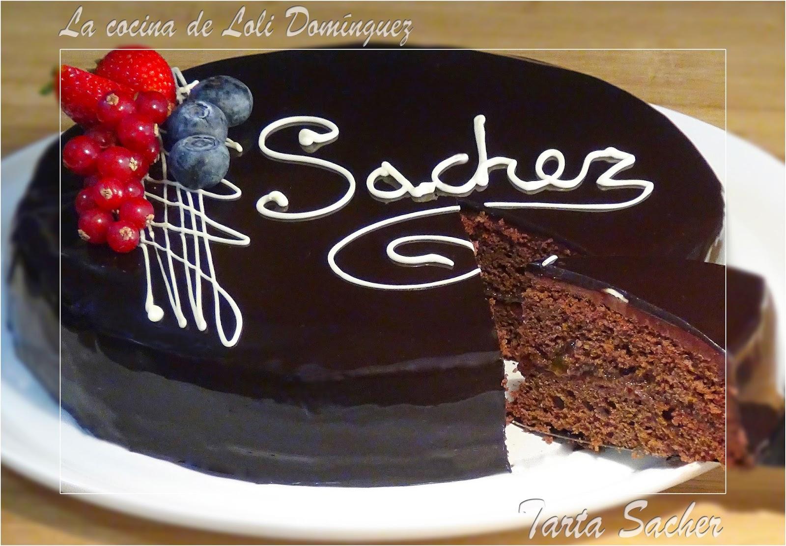 La cocina de loli dom nguez tarta sacher for Sukur pesadilla en la cocina