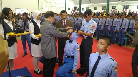 Pelantikan Siswa Baru SMAN 1 Plus Matauli Angkatan 23