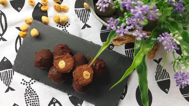 Receta Bombones Ferrero Rocher #realfood