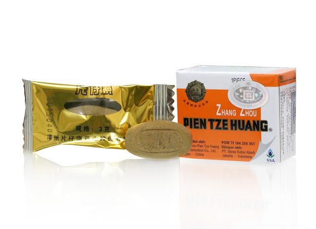 Kandungan Berkhasiat di Dalam Obat Tipes Pien Tze Huang