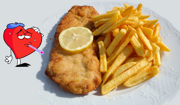 Fried Foods a Week is also Dangerous For the Heart