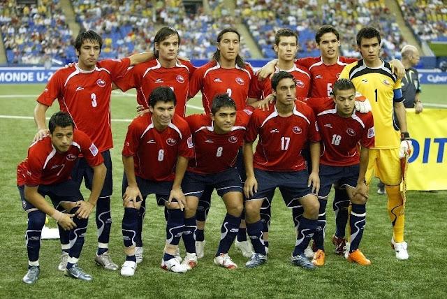 Formación de Chile ante Nigeria, Copa del Mundo Sub-20 Canadá 2007, 15 de julio