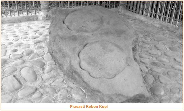 Isi dan Gambar Kebon Kopi - tujuh prasasti kerajaan tarumanegara
