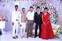 Prabhu Teju and Varsha Wedding Reception Photos