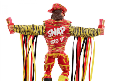 San Diego Comic Con 2019 Exclusive Slim Jim Macho Man Randy Savage Elite Action Figure by WWE x Mattel x Entertainment Earth